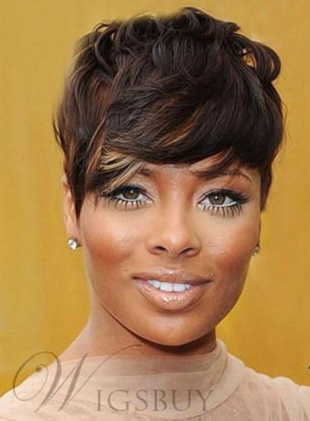 Hair Short African American