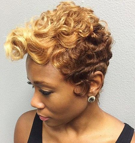 Hair Curly Short Styles
