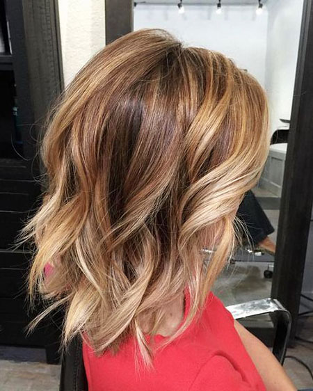 Balayage Bob Women Hair