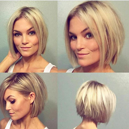 Cute Short Hairc, Short Blonde Highlights Razored