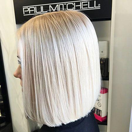 Blonde Bob Balayage Hair