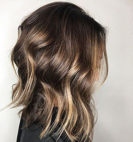Balayage Hair Brown Layered