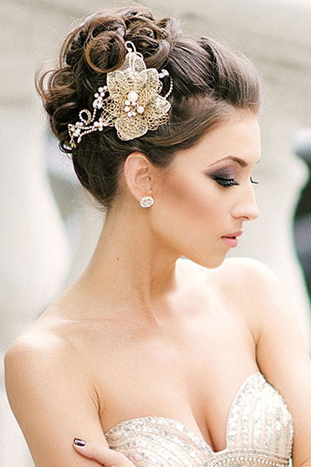 Wedding Hair Updo Bridal
