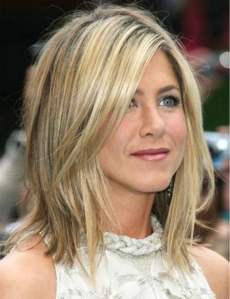 Hair Length Aniston Jennifer