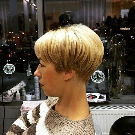 Choppy Pixie Wedge Blonde