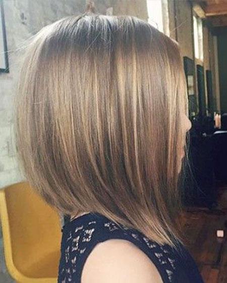 Bob Layered Blonde Hair