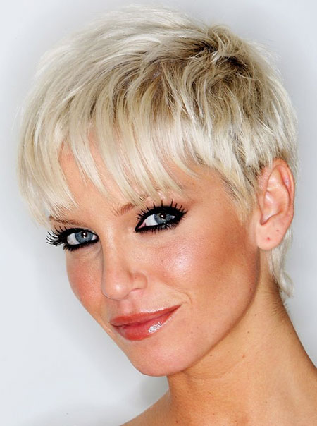 Hair Short Thin Pixie