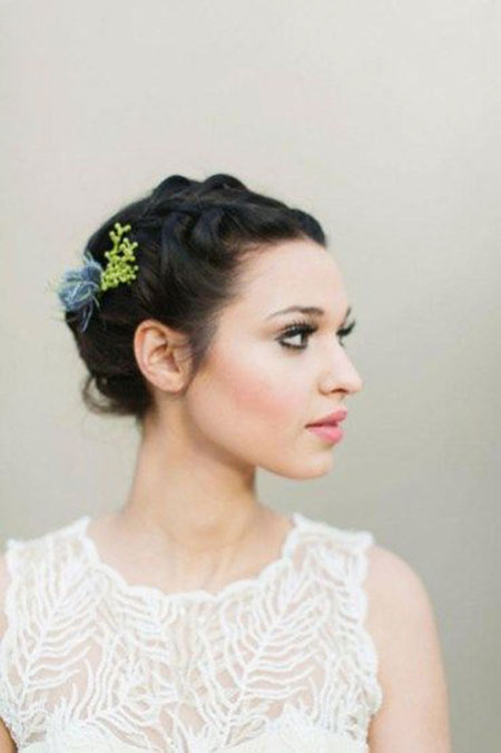 Cute Bridal Updo, Hair Wedding Bridal Weddings