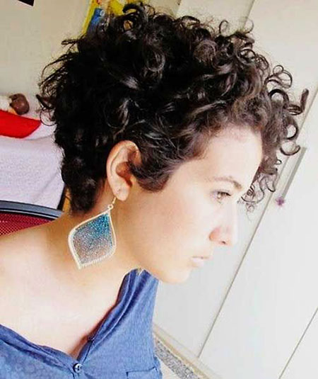 Natural Pixie, Curly Hair Short Styles