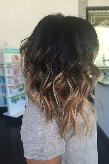 Medium Short Hair, Balayage Medium Hair Hairtyles