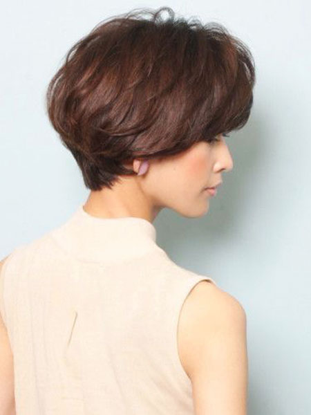 Asian Style, Short Hair Bob Wedge