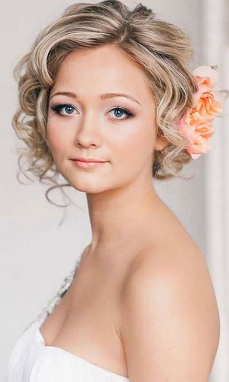 Curly Updo for Short Hair, Hair Wedding Short Hairtyles