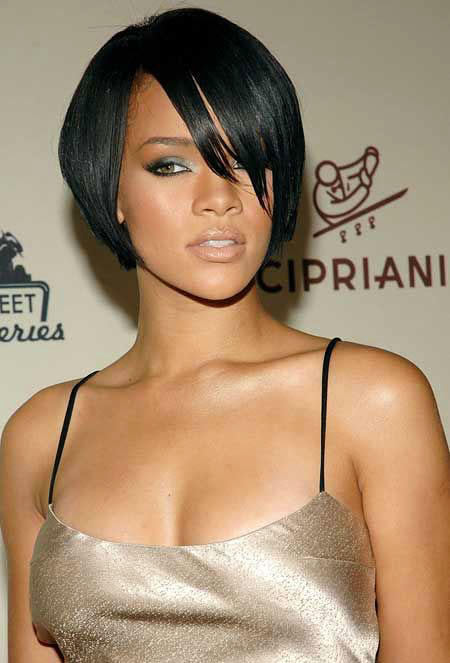 Hair Short Black Bob
