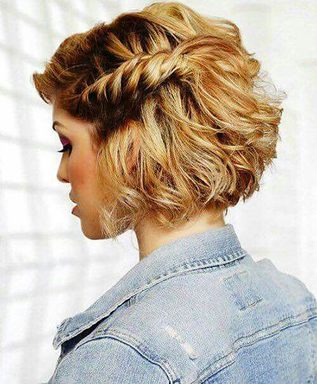 Curly Hair Short Formal