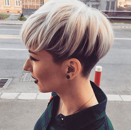 Pixie Hair Voluminous Undercut