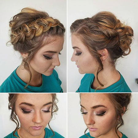 Prom Hairtyles Updo Braided