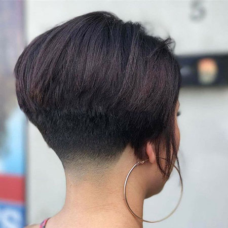 Bob Balayage Brunette Hair