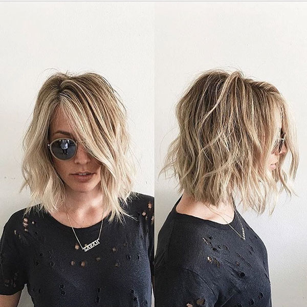 Messy Bob Hairstyles For Fine Hair