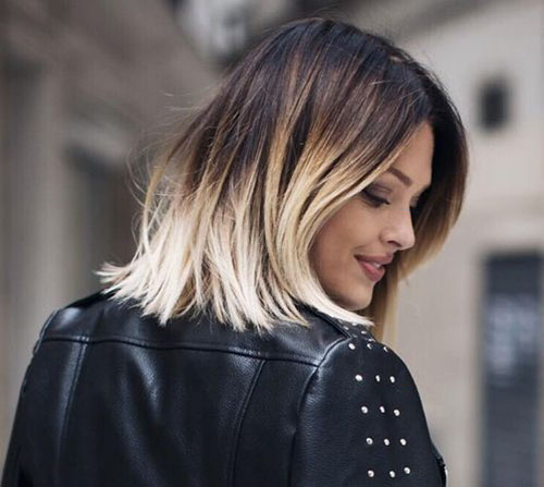 Brown To Blonde Short Hair