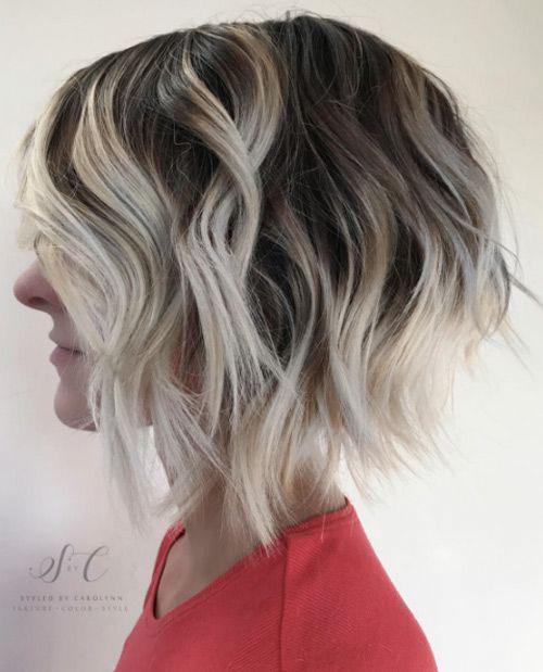Short Blonde Brown Hair