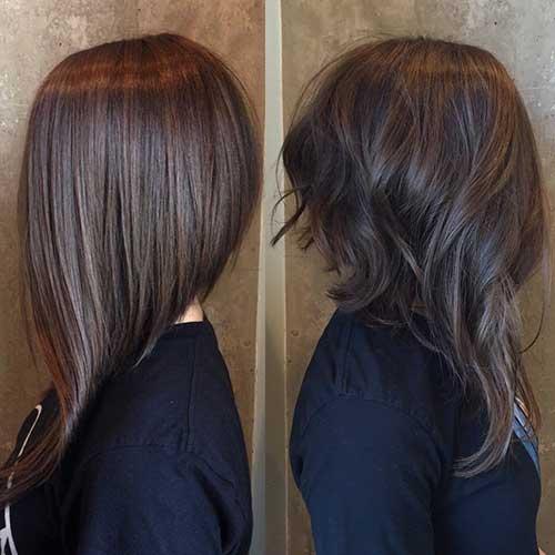 Long Bob Haircut Photos