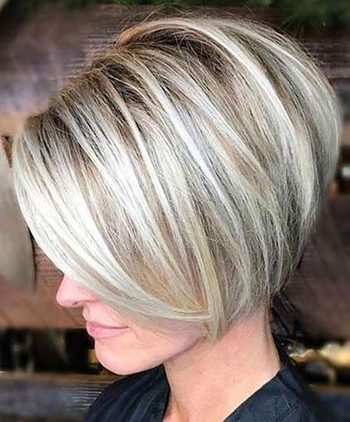 Bob Style Haircuts For Short Hair