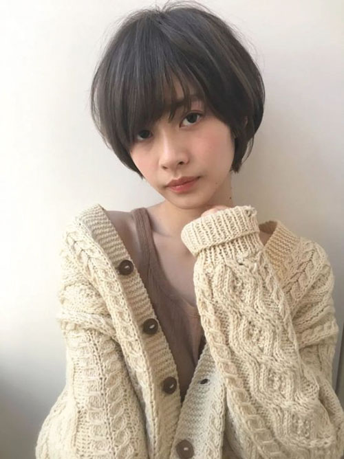 Short Hair Styles Asian