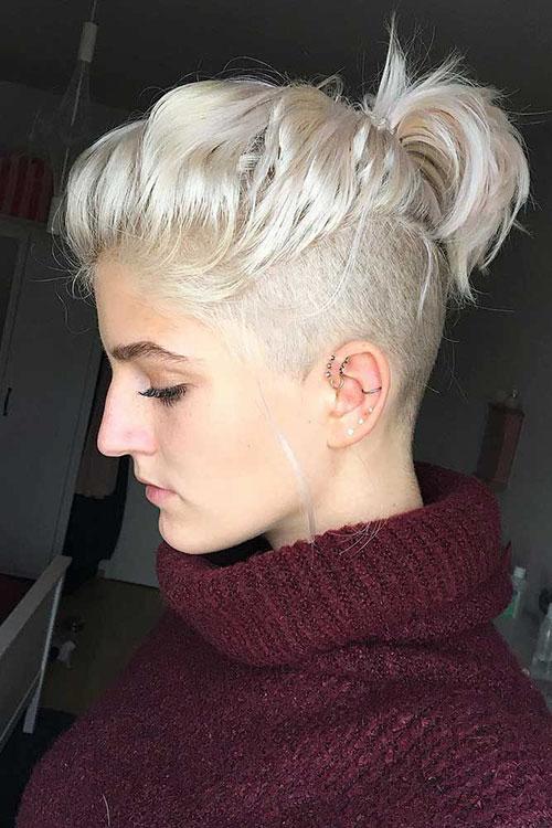 Short Shaved Hair