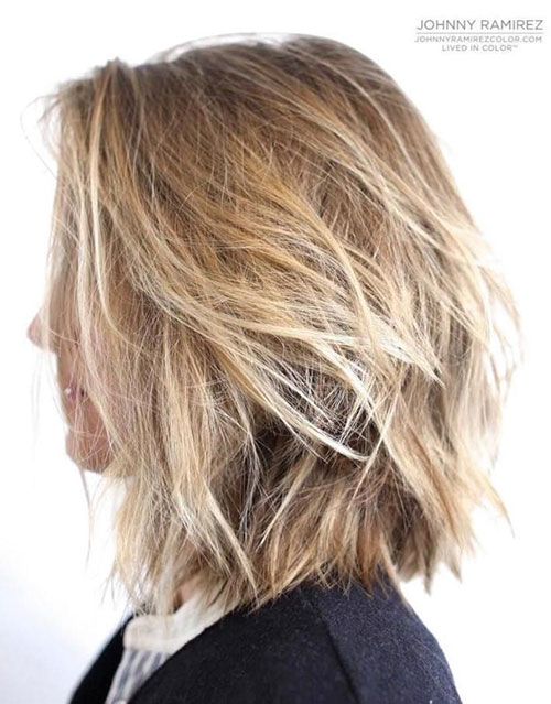 Shaggy Bob Cut Hairstyles