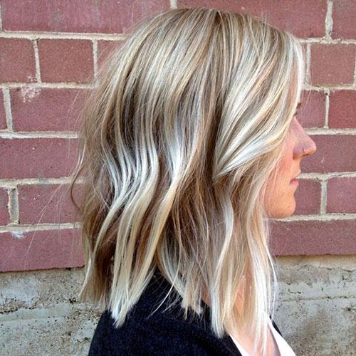 Lob Hair Ideas