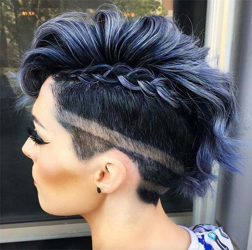 Undercut Hair Short