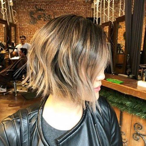 Edgy Bob Haircut
