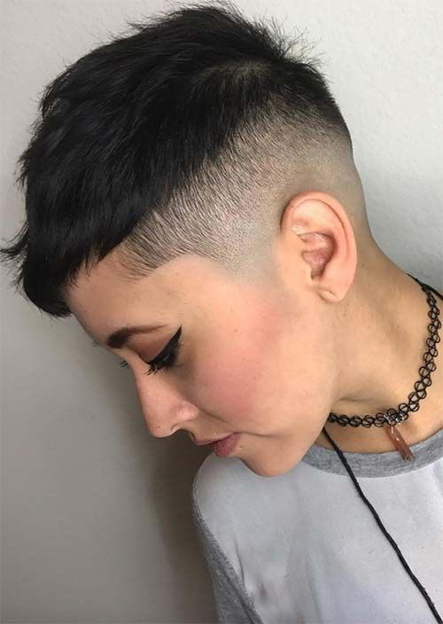 Super Short Undercut