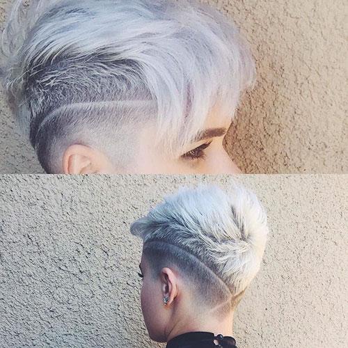 Short Shaved Haircuts