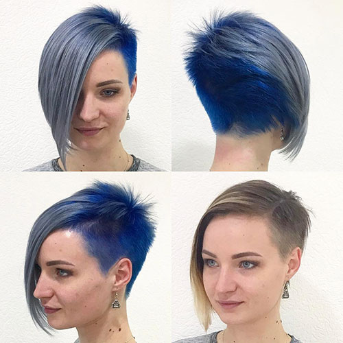 Short And Shaved Hairstyles