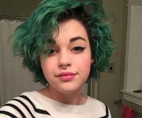 Short Hair Green 2020