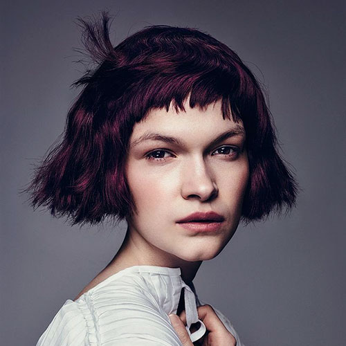 Hairdos For Girls With Short Hair