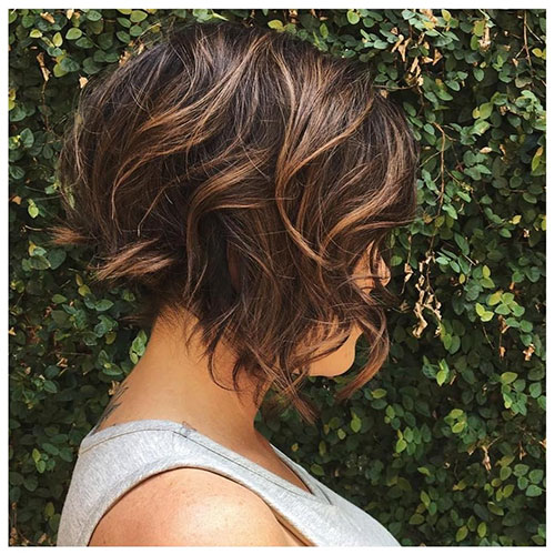 Short Hairstyles For Brown Hair