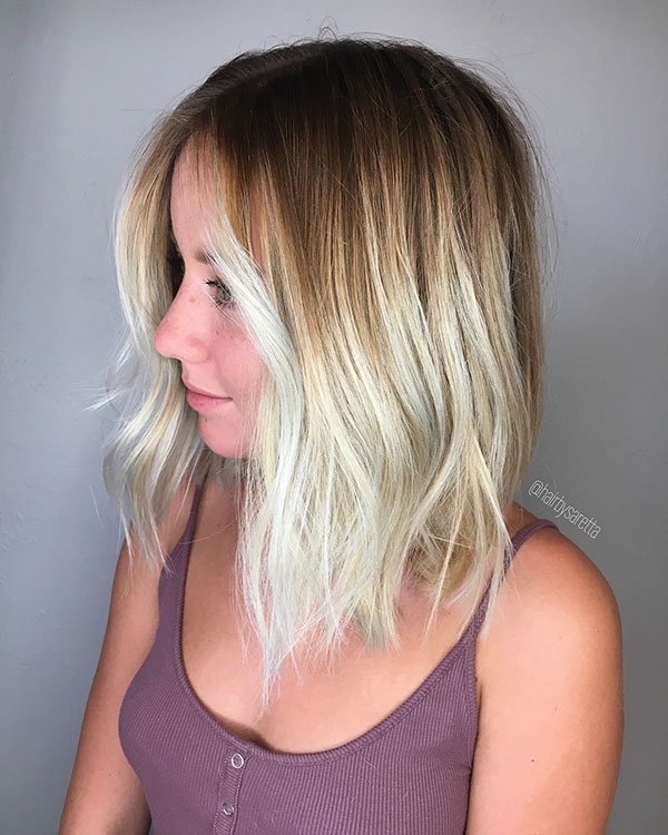 Dirty Blonde Short Hairstyles