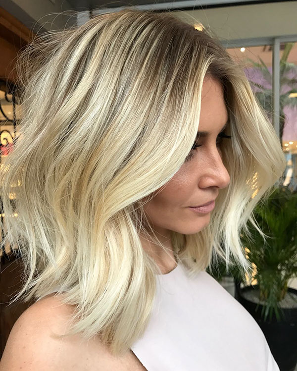 Short Dirty Blonde Hair Color