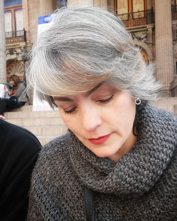 Best Short Haircuts For Grey Hair