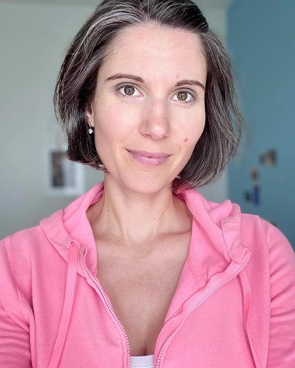 Short Grey Hair Images