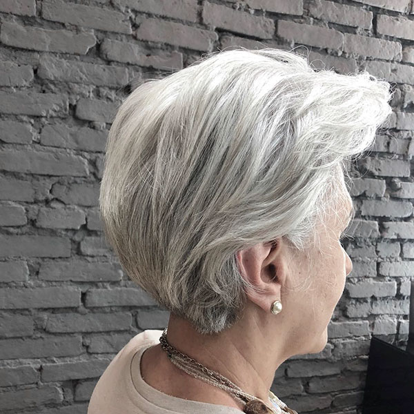 Pictures Of Short Grey Haircuts