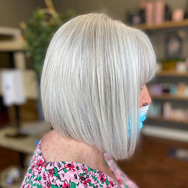 Super Short Grey Haircuts