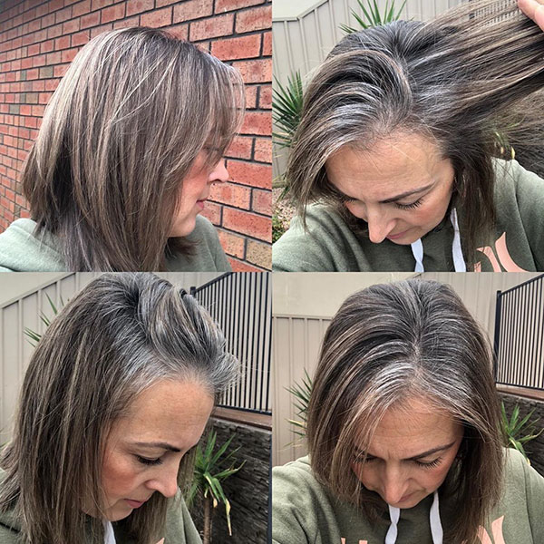 Grey Hairstyles For Short Hair