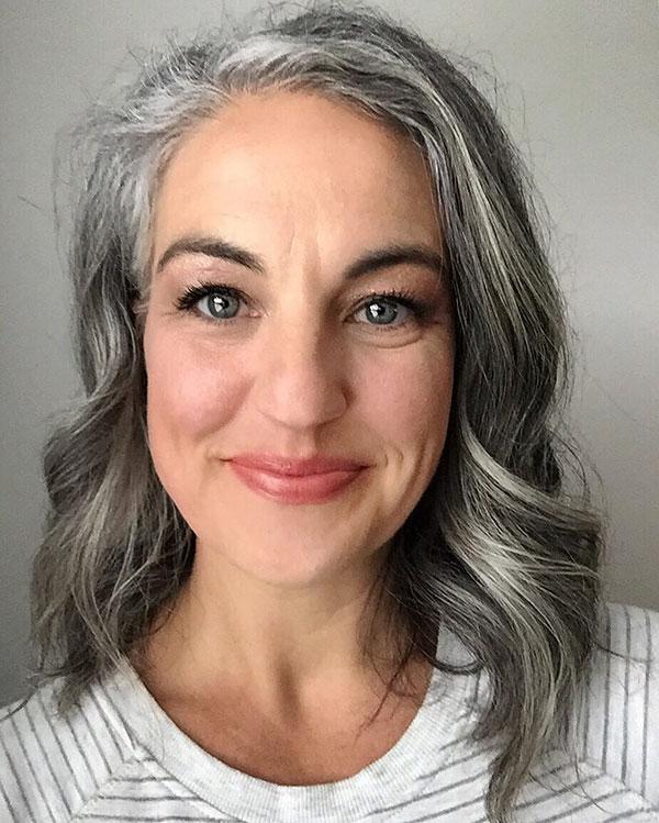 Grey Hair For Short Hair