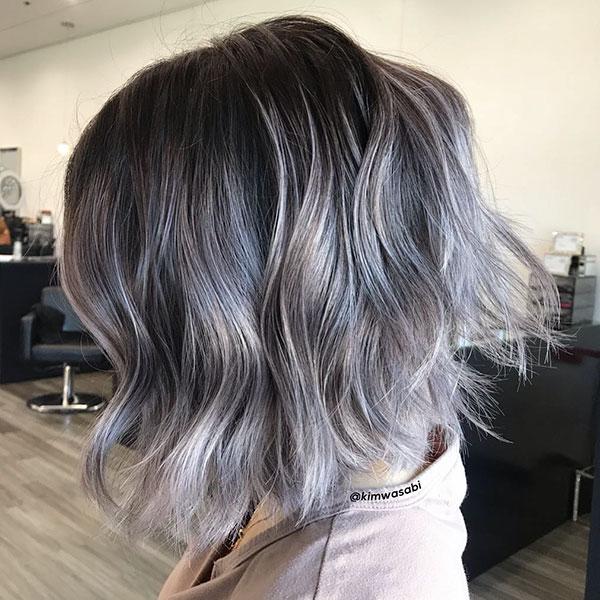 Short Grey Hairstyles