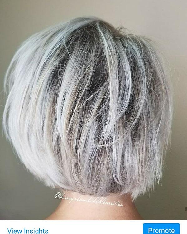 Short Grey Styles