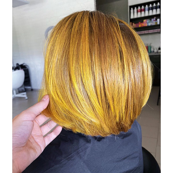 Short Yellow Hair Pictures