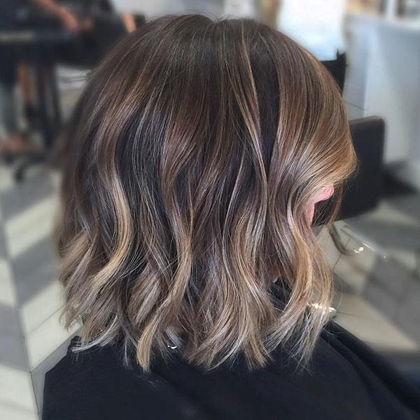 Super Short Ombre Hair